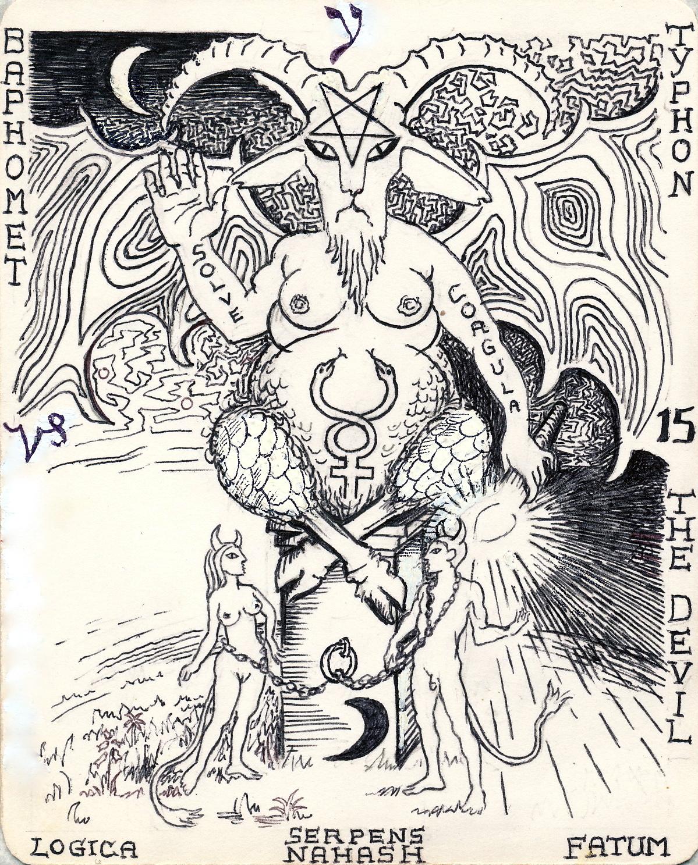The Hermetic Tarot Devil