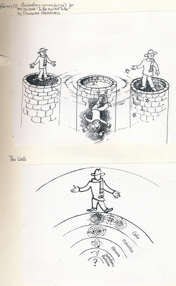 from To Be & Not To Be by Douglas Harding, illustr.JA