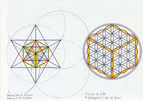 Solomon's Seal and Flower of Life