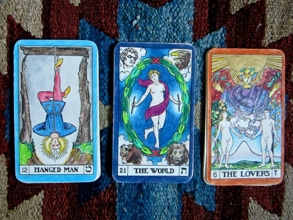 Tarot oracle 3 December 2012
