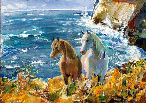 horses by the sea, ja 07