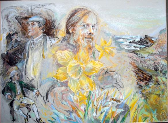 Daffodil - 1986, earthquake-kreutzer-ravine series