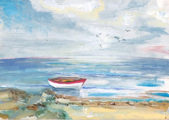 Boat, sea, 2007