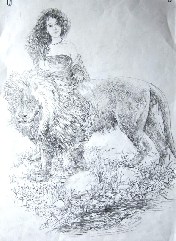 Annika and Aslan