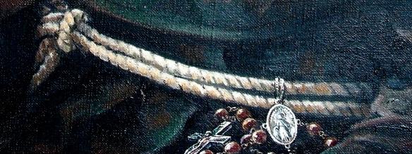 kolbe rosary detail