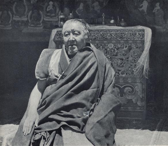Head Lama, Rongbuk Monastery, 1922