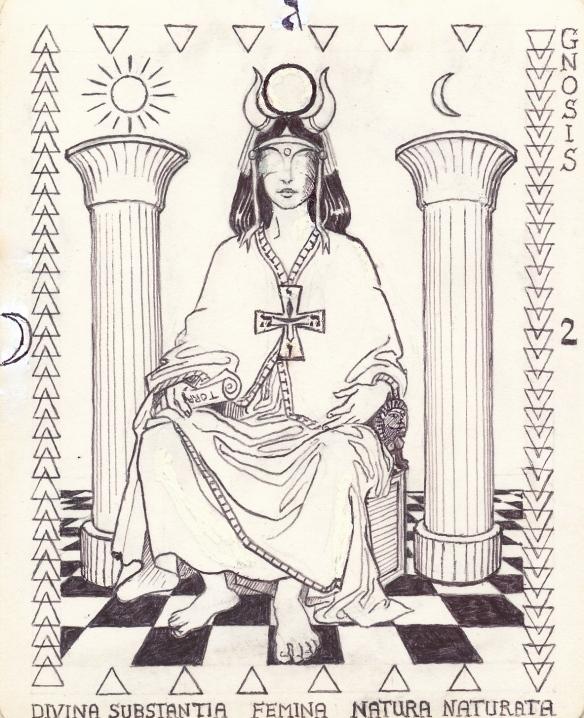 High Priestess - Arcanum 2