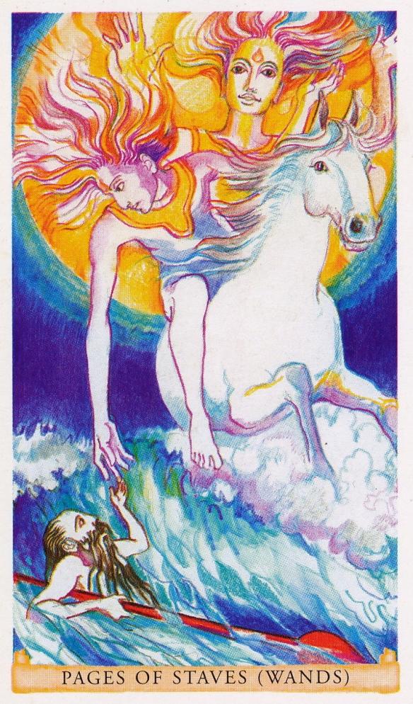 Sacred India Tarot - The Ashwins