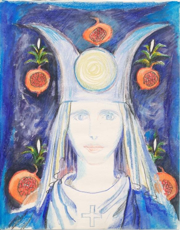Tarot priestess 2003