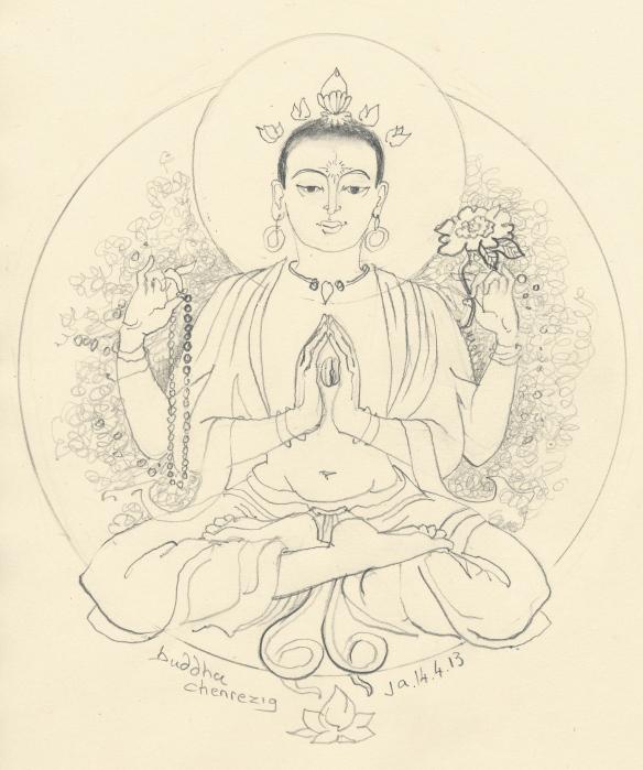 Buddha Chenrezig