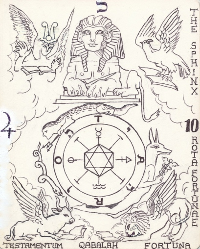 Tarot Arcanum 10 - The Wheel
