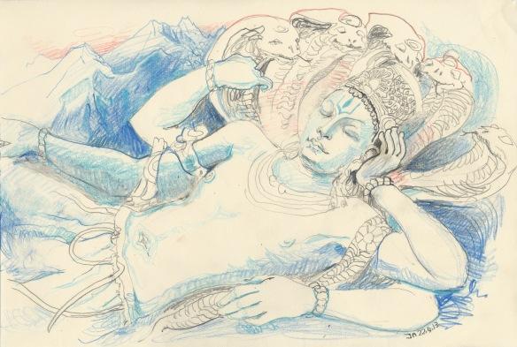 Vishnu at rest