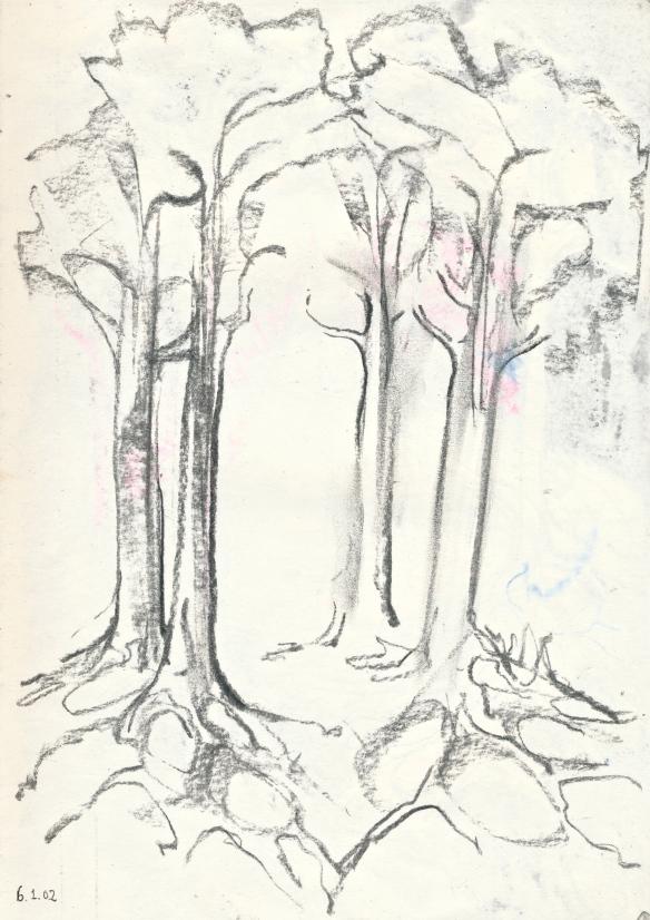 4our trees - Yod, Heh, Vav, Heh