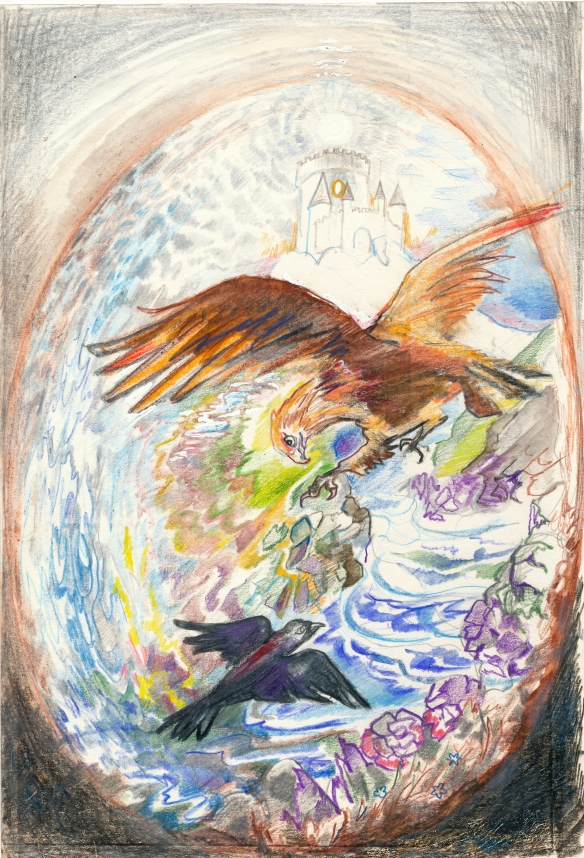 alchemy - the story of the Eagle and the little Crow