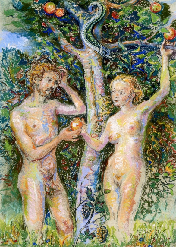 Adam & Eve after Lucas Cranach