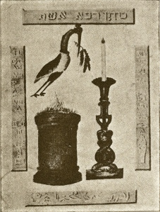 trinosofia altar bird torch 1