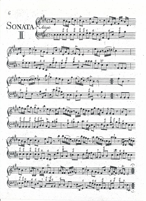 Violin Sonata 2 - keyboard part