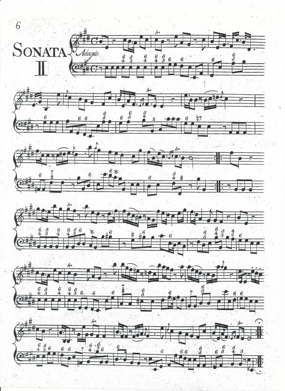 Violin Sonata 2 - keyboard part