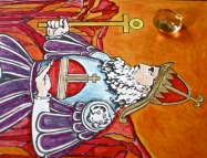 3 tarot key 4