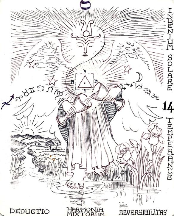Arcanum 14 Temperance - Archangel Mikael