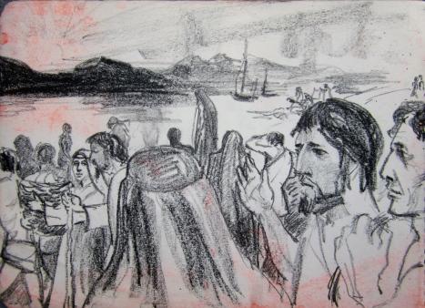 Jesus by galilee