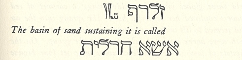 hebrew text from section 12 trinosofia