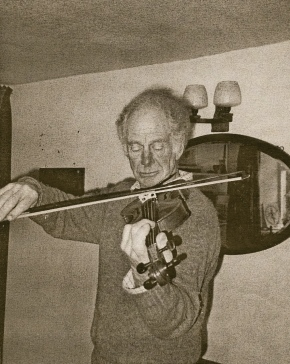 Peter at play - violin