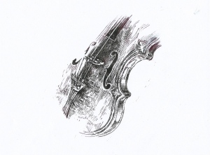 Violin for cover