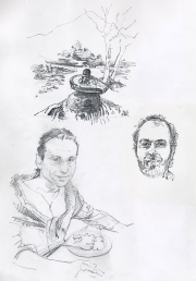 Arunachala sivalinga, Bernardo Satyananda & Isaac Shapiro