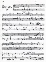 St Germain Violin Sonata IV - 1