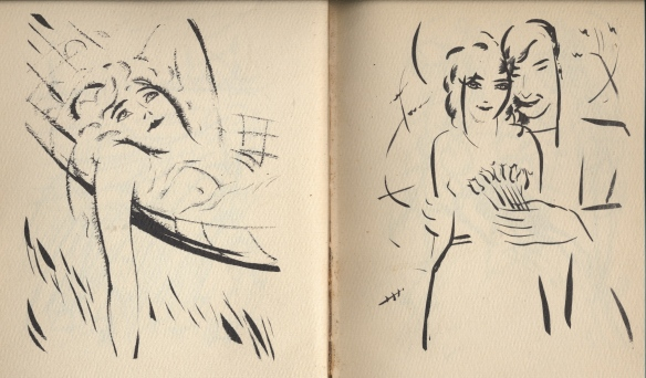 Two drawings by Szegedy Szuts