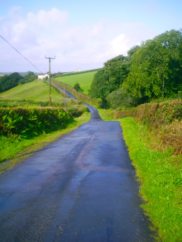 Sky blue Lane
