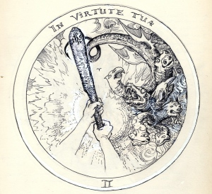 Rosicrucean Emblem - In Thy Valorous Strength