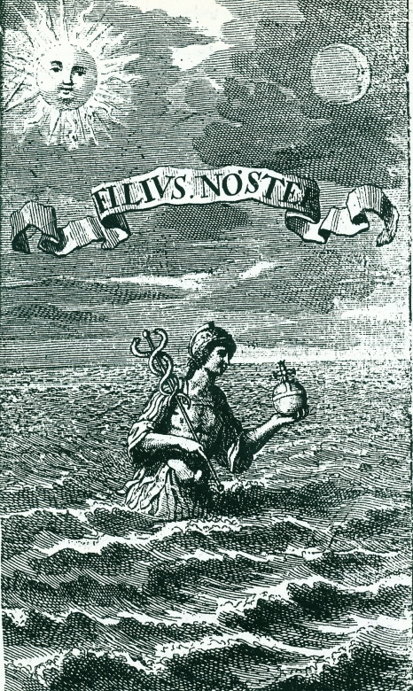 Hermes in the sea - from Roob's alchey & mysticism