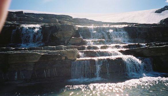 Canadian Rockies - waterfall