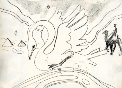 2 swan & camel 1987