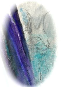 Priestess of black Isis 2 lynx - detail