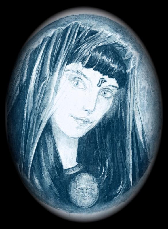 priestess with lynx 2002