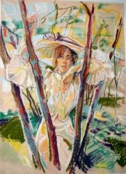 Tamara in tree 1987