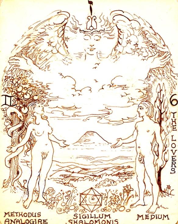 Tarot Arcanum 6 The Lovers