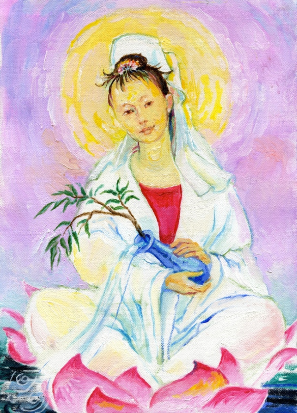 the Goddess Kwan Yin
