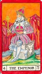 Tarot key 4 Emperor