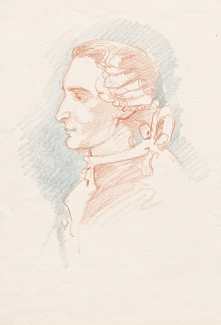 Le Comte, terracotta sketch