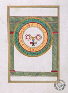 Trinosphia facsimile illustration in chapter 7