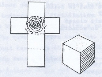 Rose Cross Cube