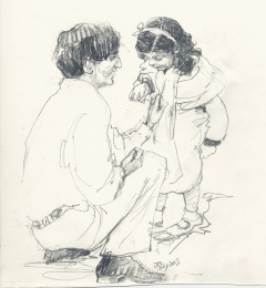 Krinsh with Radha - 1934